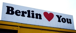 Berlin loves you sign