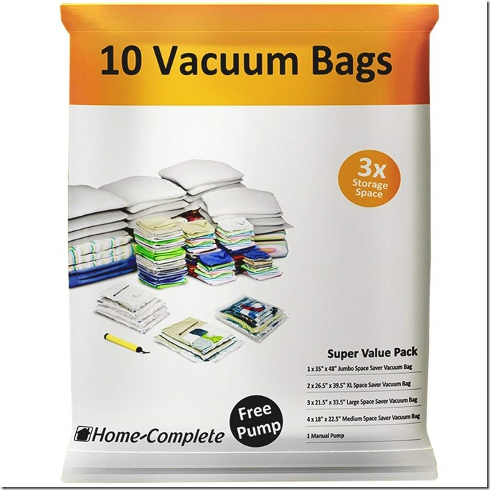 vacuum clothing bags